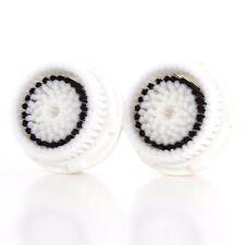 2 Sensitive Brush Heads For Clarisonic MIA & MIA2 PRO PLUS Replacement Head NEW