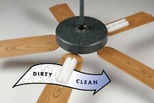 CEILING FAN AIR CLEANER 2 FILTERS clean filter remove Dust Mold Pollen BioStrike