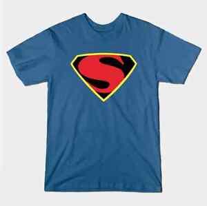 Max Fleischer Retro Superman Logo T-Shirt