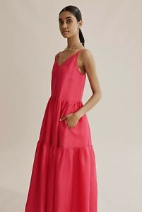 COUNTRY ROAD RAMIE MAXI DRESS  in Raspberry RRP$179 size 14