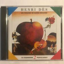 Henri Des Les trésors de notre enfance vol 2 cd neuf sous blister