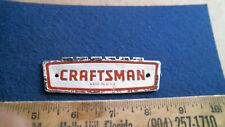 Craftsman Tool Box Badge Emblem antique vintage old sign logo