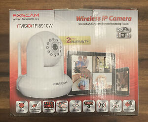 Foscam nVision F18910W Wireless IP Security Camera Remote Monitoring Complete