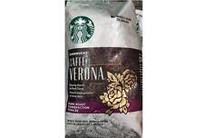 1.13kg./40oz./2.5lb. Starbucks Cafe Verona Dark Roast coffee NEW cafe