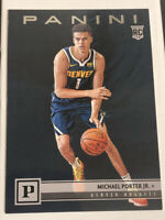 MICHAEL PORTER JR. RC ROOKIE 2018-19 PANINI CHRONICLES #107