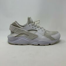 Nike Air Huarache Mens Men's Size 12 Running Shoes Sneakers White 318429-111
