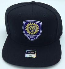 77738fb96e55 MLS Orlando City SC Adidas Snap Back Ladie's Cap Hat Beanie Style #VW74W ...