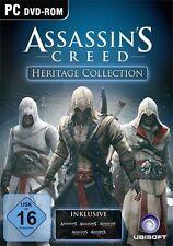 PC * Assassins Creed Heritage Collection Anthology 1+2+3+Brotherhood+Revelations