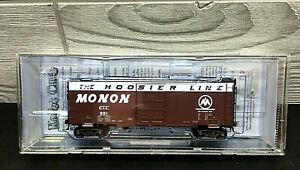 "Kadee Cars 4814 40' PS-1 Boxcar Single 7'5"" Panel Superior Monon #861 HO Scale"