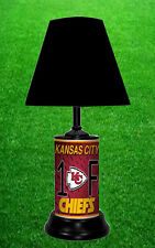 KANSAS CITY CHIEFS - NFL LICENSE PLATE LAMP - FREE SHIPPING IN USA