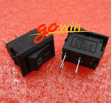 20PCS AC 250V 3A 2 Pin ON/OFF I/O SPST 2-PIN Mini Boat Rocker Switch new
