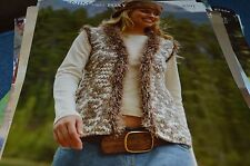 Sirdar Knitting Pattern 8591 Denim Ultra/Foxy  Waistcoat 32-42
