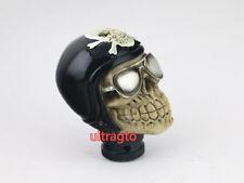 Univsersal JDM Car Truck Custom Harley Helmet Skull Shift knob shifter gear knob