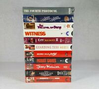 Mixed Lot Of 10 Brand New Sealed VHS Movie Film Tapes - Free Shipping!