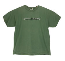 Vintage 80s 90s Banana Republic Faded Green Distressed T Shirt Mens Size XL