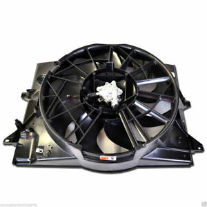 2000-2002 Lincoln LS Ford Thunderbird Condenser or Radiator Cooling Fan Assembly