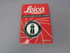 Leica & Leicaflex Lenses G.Rogliatti Hove Camera Foto Book