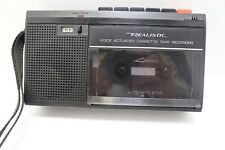Voice Actuated Cassette Tape Recorder CTR-85 14-1056 Tandy Radio Shack Realistic