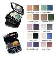 Avon True Colour Eyeshadow Duo....Warm Cashmere & Ocean Waves....new & boxed ...