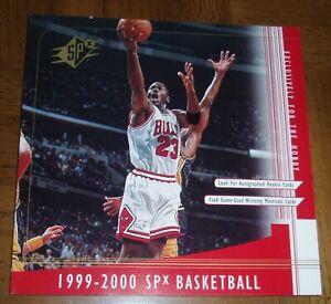 1999 - 2000  MICHAEL JORDAN - UPPER DECK BASKETBALL  -  NBA  --  SPx  -  AD