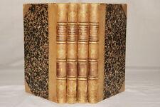 HISTOIRE DU REGNE DE FERDINAND ET D'ISABELLE 4/4 CHRISTOPHE COLOMB PRESCOTT 1861