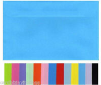 5x7 Envelopes 130x180mm (20) Quality Smooth Flat Colours Fits 5x7 in PHOTOS New