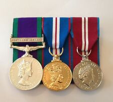Northern Ireland, Golden & Diamond Jubilee Medals, Full Size Court Mounted, Army