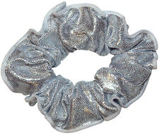 NEW!! Shiny Mystique Gymnastics and Dance Hair Scrunchies  - Variety of colors