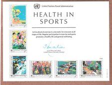 Les Nations Unies Scott # NY 34 excellent état CARTE 6/17/88