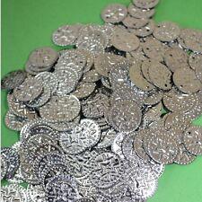 Münzen Silber Bastelmünzen, Bauchtanz Deko Basteln Perlen Metall 15mm 100g
