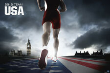 OLYMPIC POSTER London 2012 Olympics Team USA Runner