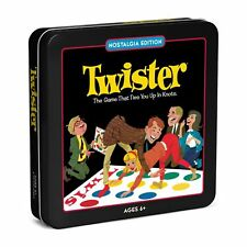 Twister Board Game in Classic Vintage Nostalgia Edition Collector's Tin New