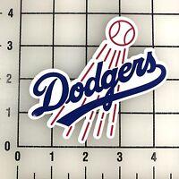 "LA Los Angeles Dodgers MLB 4"" Wide VInyl Decal Sticker - BOGO"