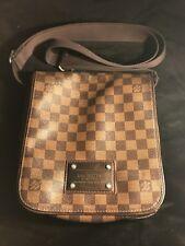 Louis Vuitton Brooklyn PM Damier Ebene Mens Messenger Bag