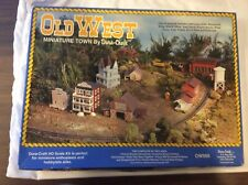 HO Old West Miniature Town by Dura Craft - 10 Structures - Less than $3 Each