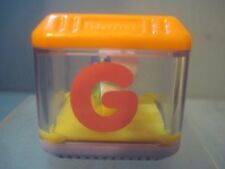 Fisher Price Peek A Blocks Letter G GUITAR Alphabet Replacement Block