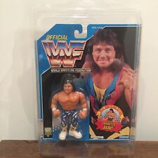 WWF/WWE Marty Jannetty Vintage Hasbro Action Figure 1994 Series 10 MOC with case