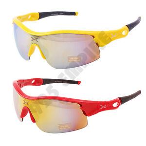 284 Men's Outdoor Mirrored Driving Cycling Golf Running UV 400 Sport Sunglasses