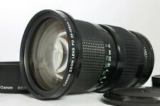 Very Good Canon New FD 35-105mm f3.5 Manual Zoom Lens with Hood from Japan