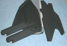 1969 gto new  sun visors & headliner kit blk perforated