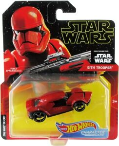 Hot Wheels Star Wars Character Cars SITH TROOPER Die-Cast 1:64 Scale