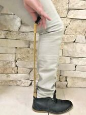 Vintage Rustic Long Wood Boot Shoe Horn Stick Handmade Crafted Home Decor Design