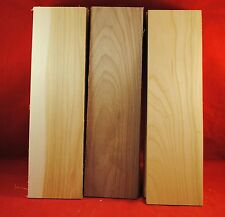 10 HICKORY 10 WALNUT 10 CHERRY 30 THIN BOARDS LUMBER 1/8