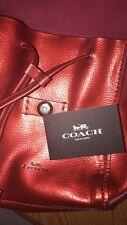 Genuine Coach Handbag- Red
