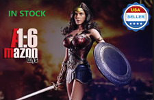1/6 Scale Wonder Woman Action Figure FULL Set w/ SEAMLESS body For DC Comics