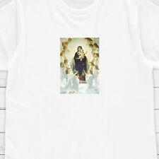 Madonna Ángeles Camiseta Arte estética grunge religión alternativa para Mujer Hombre Tee