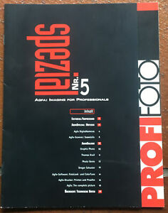 Agfa Profifoto spezial Nr. 5  - Broschüre 20 Seiten