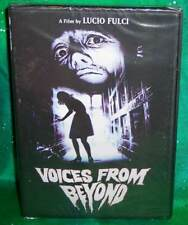 NEW RARE OOP CODE RED LUCIO FULCI VOICES FROM BEYOND HORROR CULT MOVIE DVD 2000