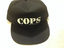 COPS Genuine Vintage 96 Baseball Hat Cap from tv show/dvd police fox network NEW