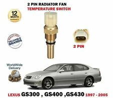 FOR LEXUS GS300 GS400 GS430 1997-2005 NEW TEMPERATURE RADIATOR FAN SWITCH